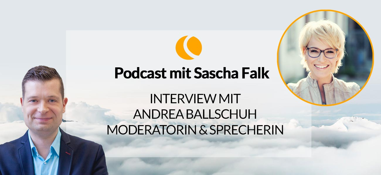 Interview mit Andrea Ballschuh, Moderatorin & Sprecherin