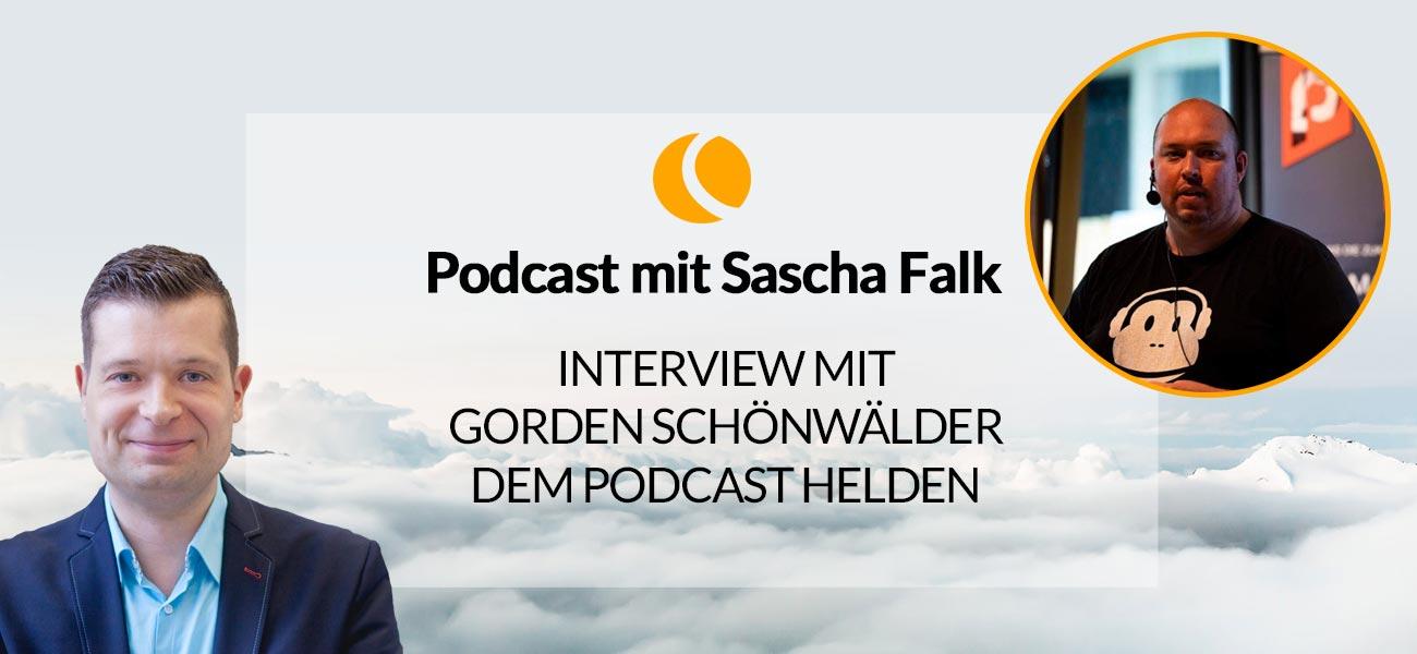 Interview mit Gorden Schönwälder, dem Podcast Helden