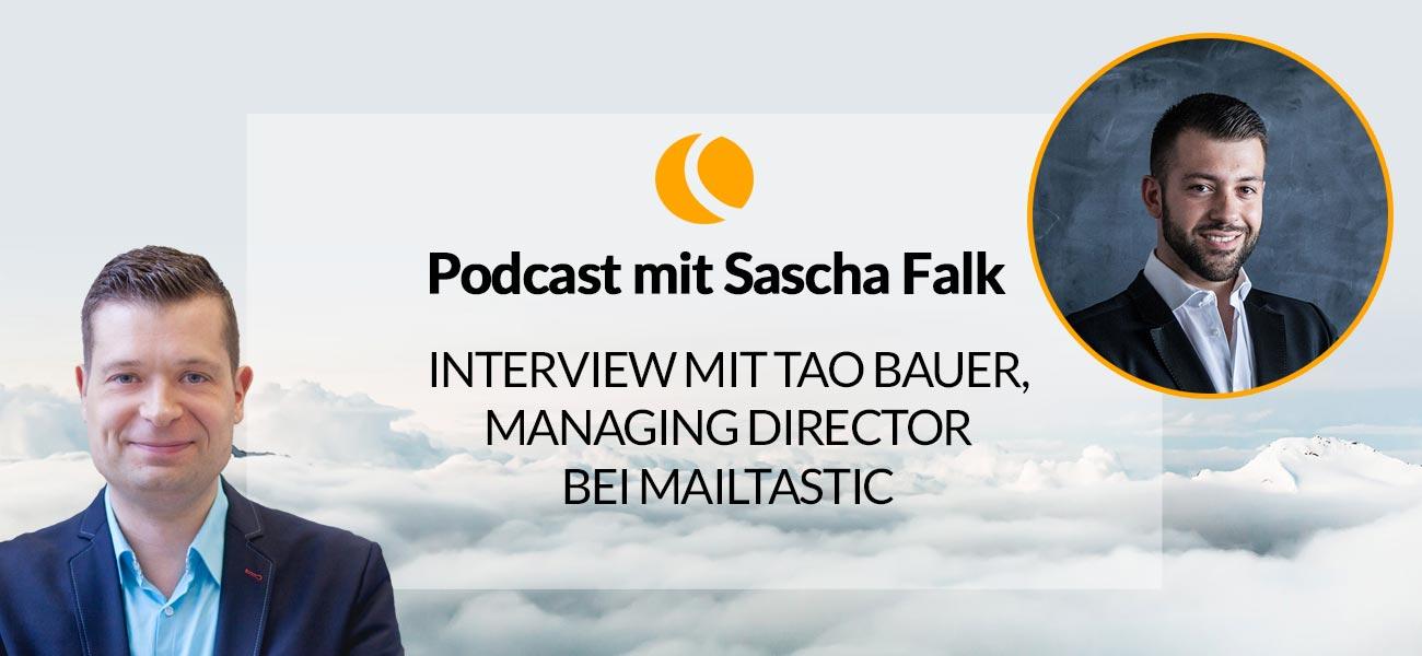 Interview mit Tao Bauer, Managing Director bei Mailtastic